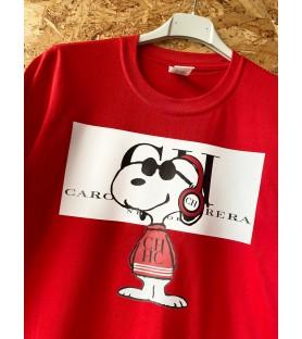 Camiseta unisex Snoopy