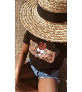 Camiseta Minnie Lazo