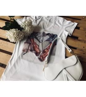 Camiseta de mujer oversize...
